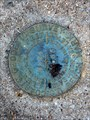 """Image for BM0586 - """"N 804"""" bench mark disk - Austin, TX"""