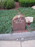 Image for Milestone 59 Miles From Boston - 1767 Milestones - Spencer, Massachusetts