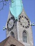 Image for Fraumünster Church clock - Zürich, Switzerland