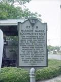 Image for Narrow Gauge Locomotive No. 7 Historical Marker