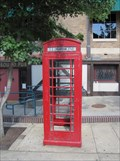 Image for River Market Red Phone Box - Little Rock, Arkansas