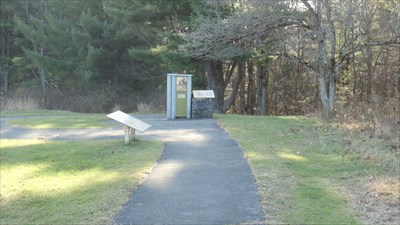 One area in which the questions in this waymarking tour can be answered, located at stop two.
