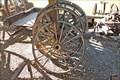 Image for Display Wagon Wheels - Eureka, MT