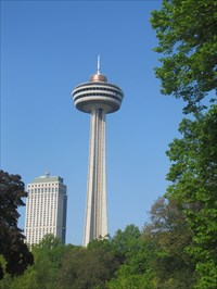 My original picture of the Skylon Tower