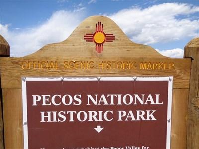 Pecos National Historical Park - Santa Fe County, New Mexico, USA