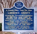 Image for A County Older Than The State, Lawrence County - Moulton, AL