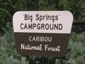 Image for Big Springs Campground - Caribou National Forest, ID