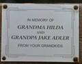 Image for Grandma Hilda and Grandpa Jake Adler ~ Bismarck, North Dakota