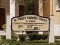 Image for St. Paul's Catholic Church - Jacksonville, Florida
