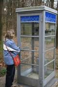 Image for Old pay phone booth in Openluchtmuseum Arnhem
