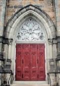 Image for Holy Trinity German Catholic Church Door  -  Boston, MA