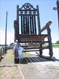 Image for Worlds Tallest Rocking Chair
