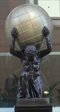 Image for Atlas At The Entrance To Atlas Chambers - Manchester, UK