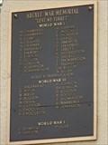 Image for Argyle War Memorial - Baldur MB