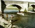 Image for Burnsall Bridge, Burnsall, N Yorks, UK – Last of The Summer Wine, Ballad For Wind Instruments & Canoe (1975)