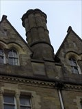 Image for Octagonal Chimney, The Old College, Aberystwyth, Ceredigion, Wales