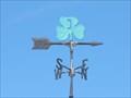 Image for Three Leaf Clover Weathervane - Fayette, UT