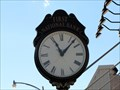 Image for First National Bank Clock, Meridian, TX, USA