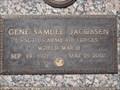 Image for Gene Samuel Jacobsen, grave - Bataan Survivor - Murray City, Utah