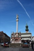 Image for Morový sloup Znojmo | Marian column Znojmo, Czech Republic