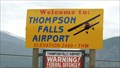Image for Thompson Falls Airport Elevation 2460 Feet