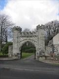 Image for Old Hall Entrance, Rhiwlas, Bala, Gwynedd, Wales, UK