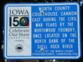 Image for Worth County Courthouse Cannon - Northwood, IA