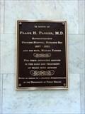 Image for Frank H. Parker, M.D. & Marian Parker - Boston, MA