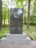 Image for K9 Police Services Memorial - Meaford, ON