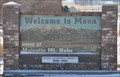 Image for Welcome to Mona, Utah - Eastern Approach