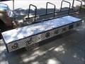 Image for Jackson Pollock Bench  - Chico, CA