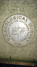 Image for QE0867 - USGS '449 B' Benchmark - University of Oregon