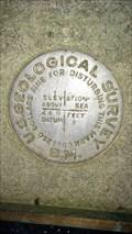 Image for QE0867 - USGS '449 B' Benchmark - University of Oregon