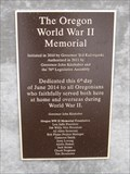 Image for The Oregon World War II Memorial - Salem, Oregon