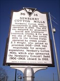 Image for 36 14 - NEWBERRY COTTON MILLS