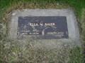 Image for 107 - Ella Bauer, Watertown, South Dakota