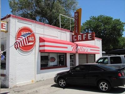 Pane 1, Mollie's Cafe, Snowville, UT