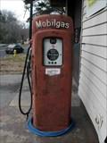 Image for Mobil Vintage Gasoline Pump - Gibbsboro, NJ