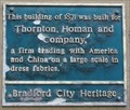 Image for Thornton Homan and Company – Bradford, UK