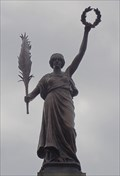 Image for Victoria (Victory) and Asteroid 12 Victoria – Keighley, UK
