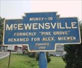 Image for Blue Plaque: McEwensville