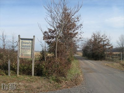 Buford brought his Union troops down this road after crossing the Rappahannock River in June 1863.