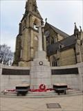 Image for Cross of Sacrifice outside Bury Parish Church – Bury, UK