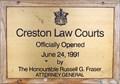 Image for 1991 - Creston Law Courts - Creston, BC