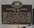 Image for Herbert O. Kubly - New Glarus, WI