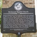 Image for Richmond Baptist Church - Port Wentworth, GA