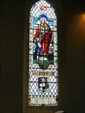 Image for Memorial Window, Rev. Sharpe. Holy Trinity Church, Elsecar, South Yorkshire, UK.