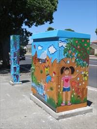 Pair of Utility Boxes, San Jose, CA
