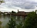 Image for LONGEST - Covered Wooden Bridge of Europe - Bad-Säckingen, BW, Germany