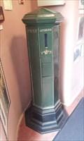 Image for Post Box, Castle, Haverfordwest, Pembrokeshire, Wales, UK